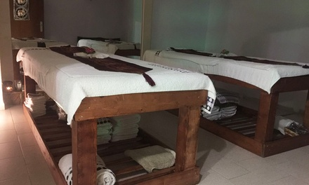 """Ritual de masaje sensorial tailandés en pareja o a 4 manos """"Plata"""", """"Oro"""" o """"Platino"""" desde 49€ enThai Massage Benidorm"""