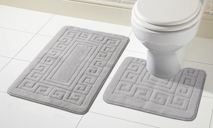 Two-Piece Bath Mat Set