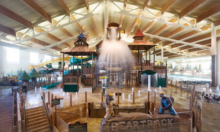 Great Wolf Lodge New England - Fitchburg, MA: Stay with Water Park Passes and $75 Resort Credit at Great Wolf Lodge New England in Fitchburg, MA; Dates into November.