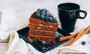 Wół i Krowa: Dowolna kawa, herbata lub napój (14,99 zł) z ciastem (od 24,99 zł) w burgerowni Wół i Krowa(do -54%)