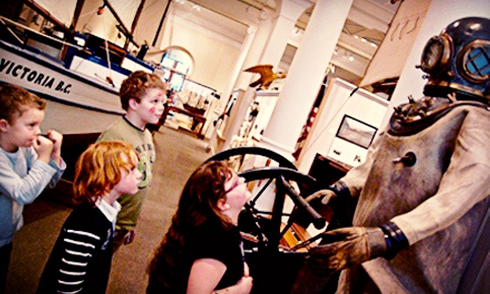 Maritime Museum of BC - Victoria: Visit for Two or Four or Junior or Senior Adventure at Sea Camp at Maritime Museum of BC (Up to 58% Off)