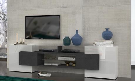 Mueble de TV Slave fabricado en Italia