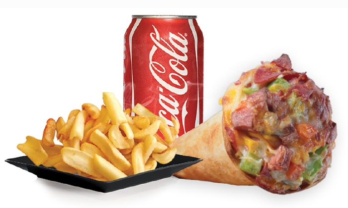 Yummy Cone - Thornhill: Pizza and American Food at Yummy Cone (40% Off)