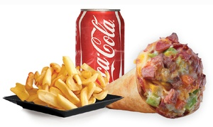 Yummy Cone: Pizza and American Food at Yummy Cone (40% Off)