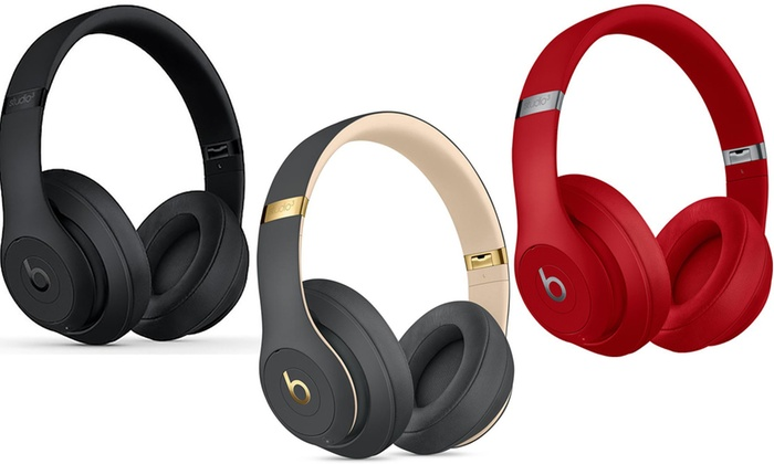 Beats By Dr Dre Studio 3 Wireless Over Ear Headphones Ref A Grade Groupon