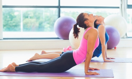 5 or 10 Classes at Blue Sol Yoga (Up to 58% Off)