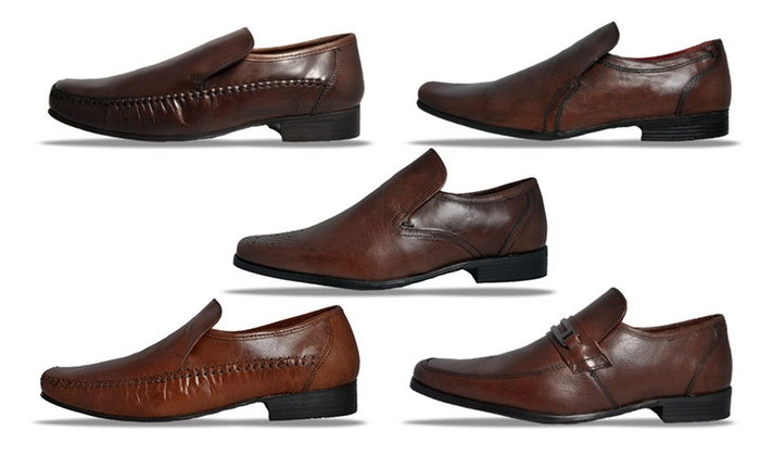 Up To 17% Off Red Tape Men's Leather Shoes | Groupon