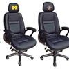 NCAA Head Coach Leather Office Chair