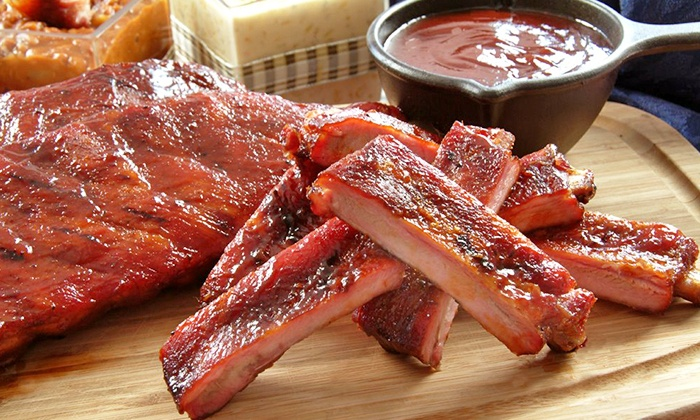 Sweet Baby Ray's Barbecue - Elk Grove Village: Regional Barbecue for Dinner for Two, Four, or Six or More at Sweet Baby Ray's Barbecue (Up to 46% Off)