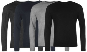 Pull homme Pierre Cardin col rond