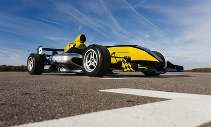 14-Lap F1000 Single Seater Experience Including a High-Speed Passenger Lap for One or Two at Drift Limits (50% Off)