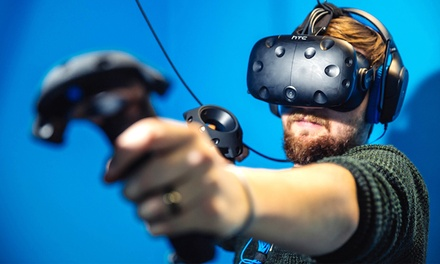 OneHour Virtual Reality Gaming Session for One or Two at Immersion Gaming