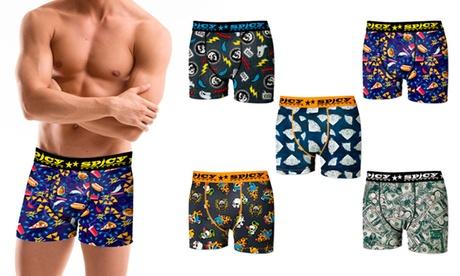 Pack de 5 boxers Spicy para hombre
