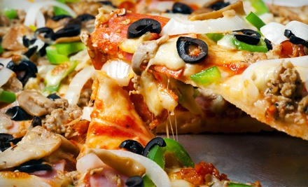 $12 for $20 Worth of Pizza, Pasta, Wings, Burgers, and Drinks at Tata's House of Pizza & Pasta
