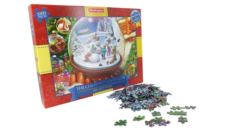 Waddingtons The Christmas Snowman 1000Piece Puzzle