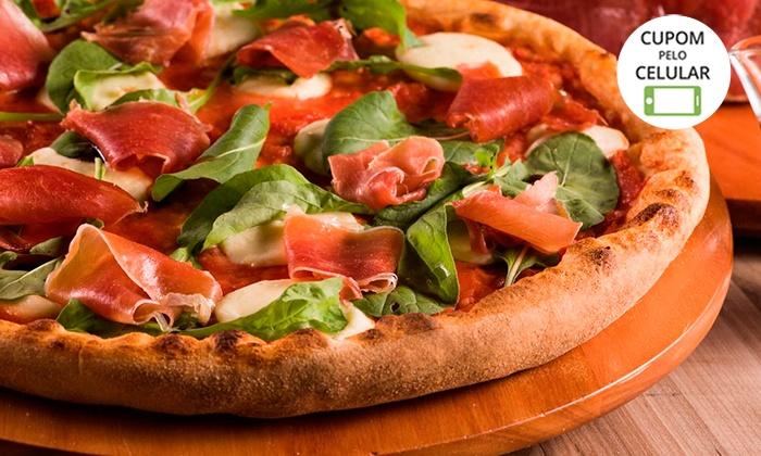 #BlackFriday - Rodízio de pizzas e mais para até 2 na Pizza César – 6 endereços - digite BLACK17 e ganhe desconto extra