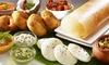 Menu au choix aux saveurs de l'Inde