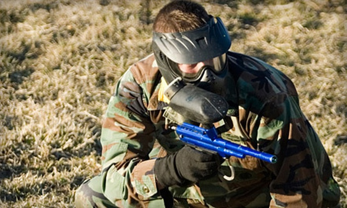 BlastZone Paintball - Madison: Paintball Outing with Equipment for 2, 4, 6, or 12 at BlastZone Paintball in Middletown (Up to 65% Off)