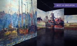 """Renaissance GmbH: 2 Karten für die große """"From Monet to Klimt"""" Ausstellung in der Zeitenströmung Dresden (bis zu 36 % sparen)"""