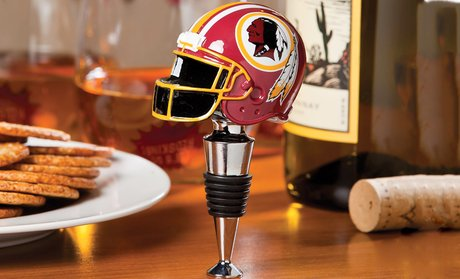 NFL Helmet Bottle Stopper