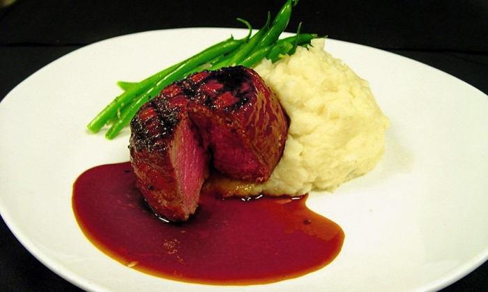 Elevation Chophouse & Skybar - Acworth-Kennesaw (on Cobb County Airport): $15 for $30 Worth of Steak, Seafood, and Drinks for Two or More at Elevation Chophouse & Skybar