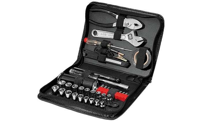 compact auto tool kit  piece groupon goods