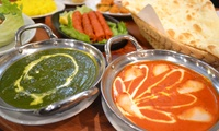 【60%OFF】カレー5種やパパド、ナンなど、本格インド料理を好きなだけ≪料理9品食べ放題+飲み放題120分≫ @yabin(エビン)