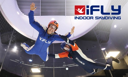 iFLY Indoor Skydiving Package for One $49 or Two People $95 at iFLY Gold Coast Up to $198 Value