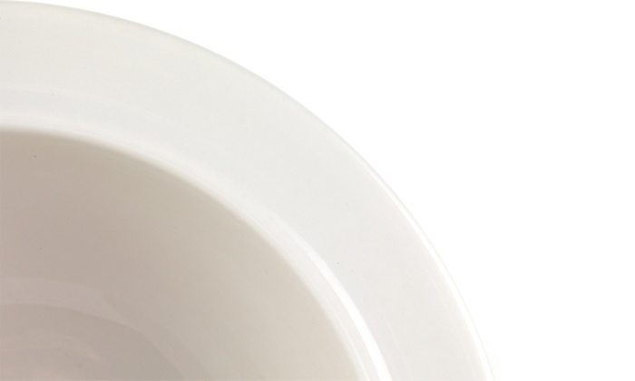 Complete porcelain dinnerware set groupon goods - Alessi la bella tavola ...