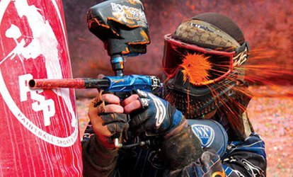 Outdoor Paintball Experience for Up to Four with 100 or 200 Paintballs at Sahara Amusement (49% Off)