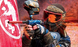 Sahara Amusment: Outdoor Paintball Experience for Up to Four with 100 or 200 Paintballs at Sahara Amusement (49% Off)
