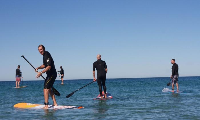Paddle boarding wollongong