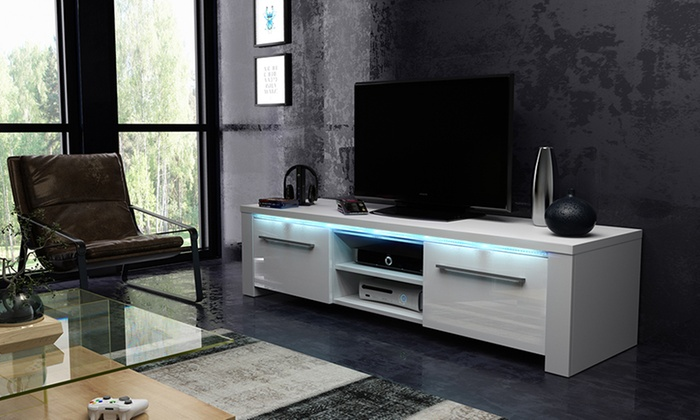 Mueble para TV con luz LED | Groupon Goods