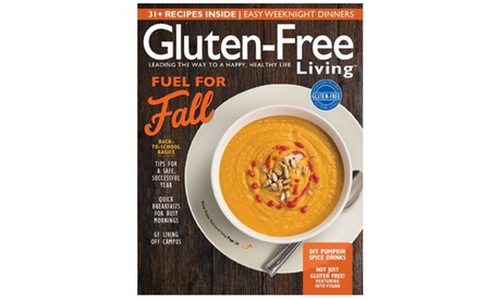 One-Year, 6-Issue Subscription To Gluten Free Living from Blue Dolphin Magazines (32% Off) 7e027ab2-d163-4fc4-9a37-77664337facb