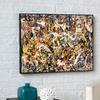 Framed Jackson Pollock Print