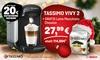 TASSIMO VIVY 2 inkl. Latte Macchiato Classico Kapseln und Gutscheinen