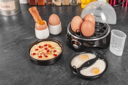 1x oder 2x Savisto 3-in-1 Eierkocher für gekochte, pochierte Eier oder Omelette (Berlin)