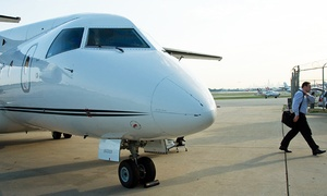 Ultimate Air Shuttle: Round-Trip Charter Flight to New York/Morristown or Chicago from Ultimate Air Shuttle (Up to 31% Off)