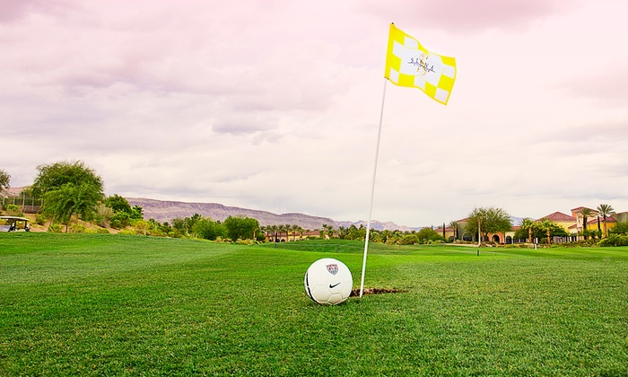 Siena Golf Club - Las Vegas: Nine Holes of FootGolf for Two or Four at Siena Golf Club (42% Off)