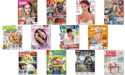 Abbonamenti digitali mondadori di 6 mesi riviste for Cucina moderna abbonamento