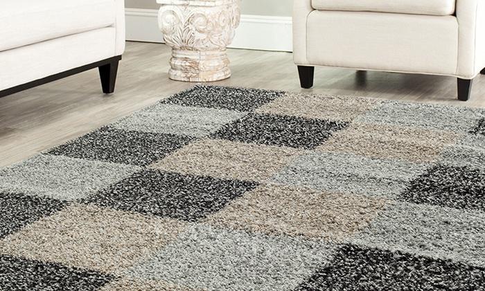 שויה יבוא ושיווק בעמ - Merchandising (IL): שטיח שאגי ענק, רך ונעים למגע, ב-3 מידות ומגוון צבעים לבחירה