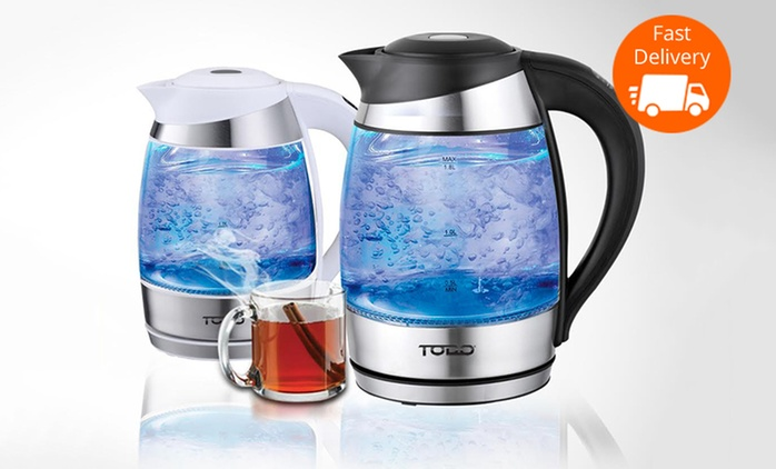 $49 for a 1.8L Variable Temperature LED Glass Kettle