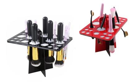 Make-up-Zubehör-Ständer für 26 verschiedene Werkzeuge in Rot oder Schwarz (bis zu 70% sparen*)