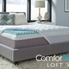 "BeautyRest ComforPedic Loft 3.5"" Reversible Gel and Fiber Topper"