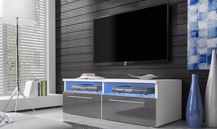 siena gloss tv cabinet