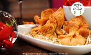 Restaurante Tailandes Thai: Thai Restaurante – Bigorrilho: jantar tailandês com entrada e prato principal para 1, 2 ou 4 pessoas