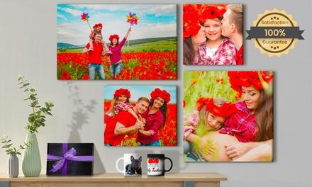 Productos personalizados fotográficos para el Día del Padre y de la Madre con PrinterPix(hasta 93% de descuento)