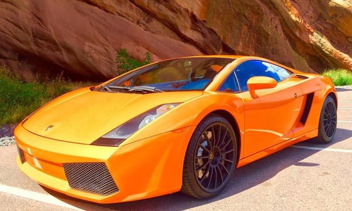 Sin City Exotics - Sin City Exotics: Exotic Car Test Drive in Lamborghini, Ferrari, Corvette, or Nissan from Sin City Exotics (Up to 50% Off)