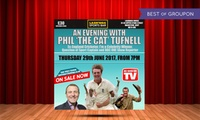 An Evening with Phil The Cat Tufnell with Meal for One or Two, 29 June at Lashings (Up to 45% Off)