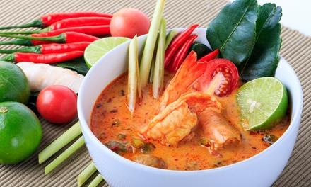 $30 ($19), $50 ($31) or $80 ($49) Toward Thai Food and Drink at Soul Thai Cuisine